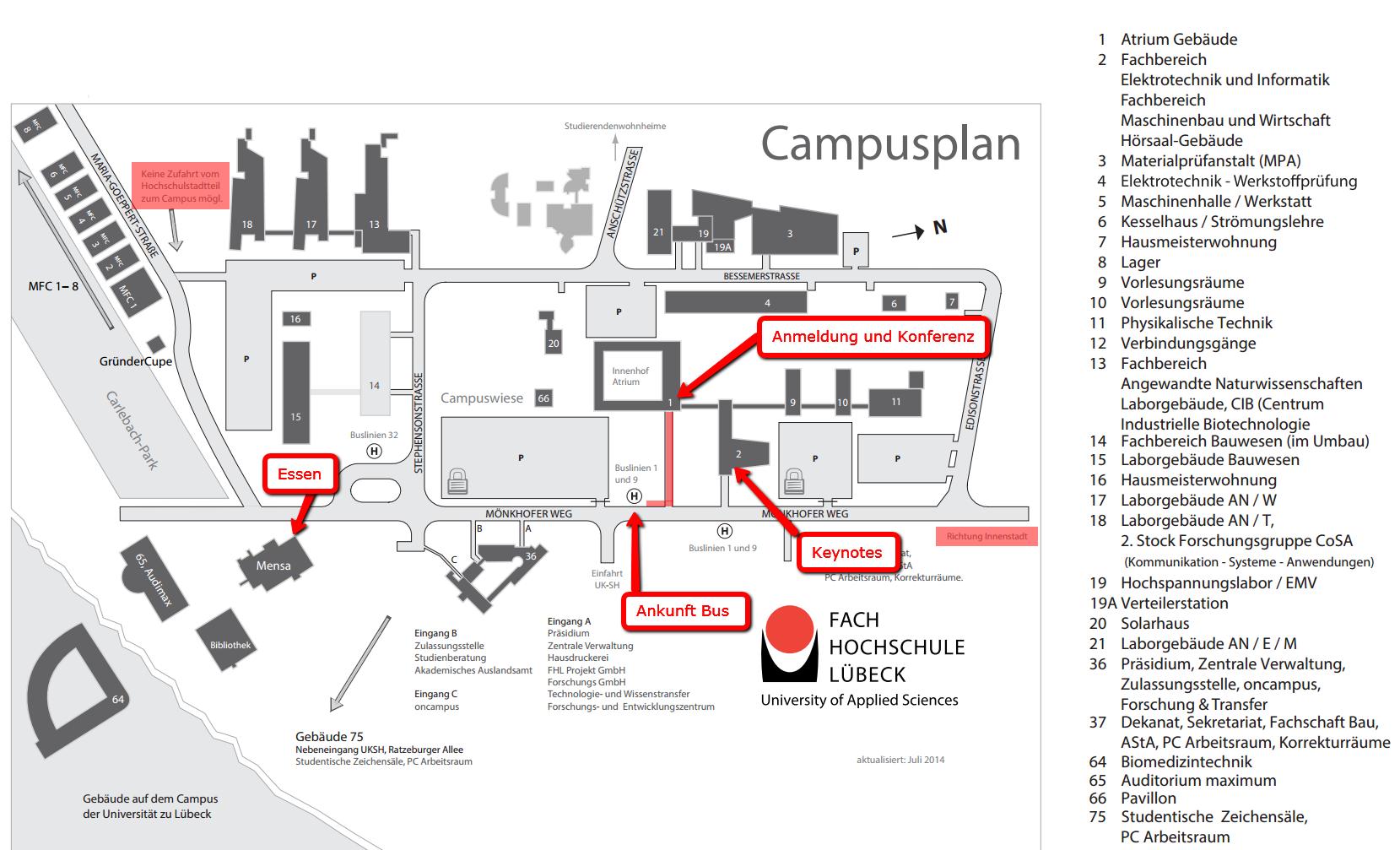 Campusplan